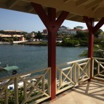 Terrasse A La Mer - Jan Thiel Curacao - Porch en Uitzicht Waterfront Penthouse Appartement